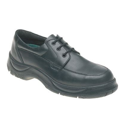 Himalayan 310 Black Leather Wide Grip with  Dual Density Sole & Midsole Safety S