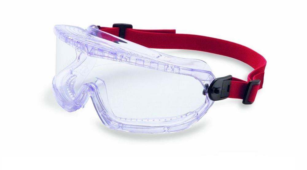 Honeywell 1007506 V-MAXX Chemistry Acetate Safety Goggle Indirect Vent Clear