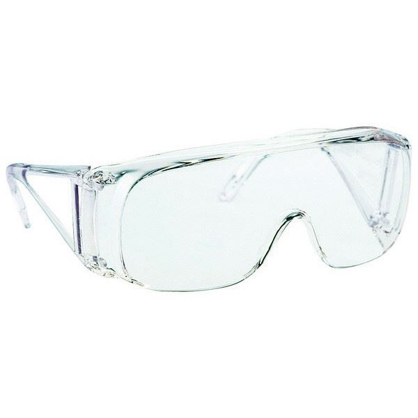 Honeywell 1002550 Polysafe Visitor Glasses Clear Uncoated