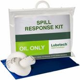 Lubetech 24-1025 Oil Spill Kit Clip Close Carrier 25 Litre