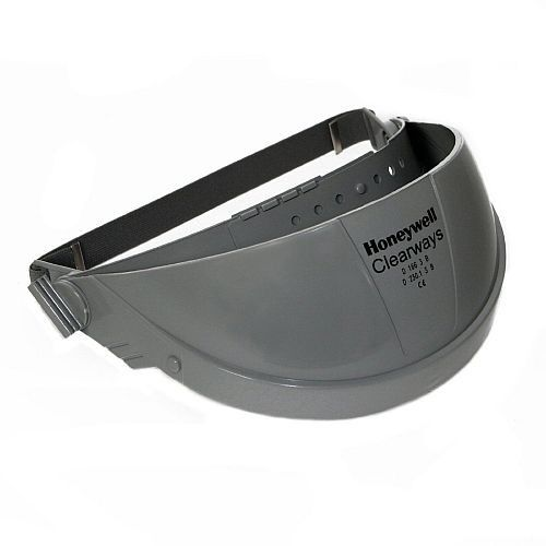 Honeywell Sperian CB14 Clearways Browguard with Elasticated Headband Grey
