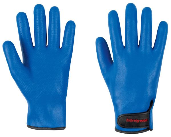 Honeywell 2299500 DeepBlue Winter Thermal Gloves Oil Resistant Blue