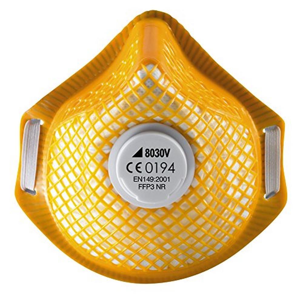 Alpha Solway Alphamesh 8030V FFP3 Metal Free Mask (Pack of 10)