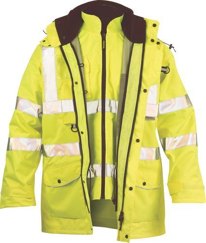 Faithful Ripon 7 in 1 Hi-Vis Jacket Yellow or Orange