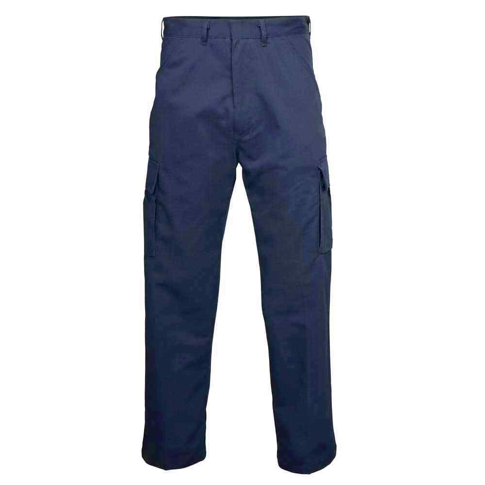 Faithful 245GSM Navy Cargo Work Trousers