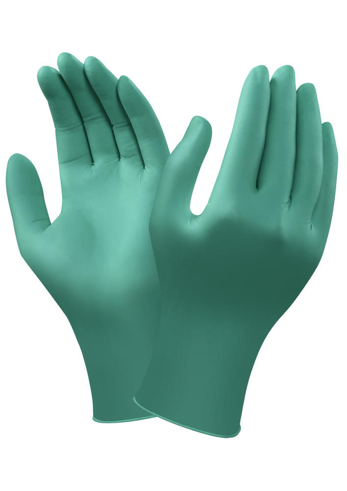 Ansell 92-605 Nitrile Powderfree Disposable Long Cuff Glove (100 Pack)