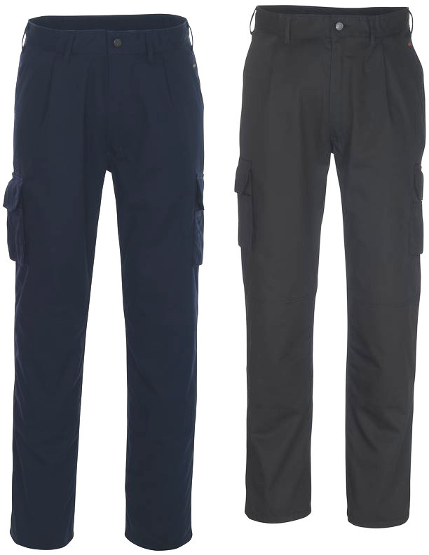 Mascot Pasadena 07479-330 Knee Pads Pockets Polycotton Cargo Trousers