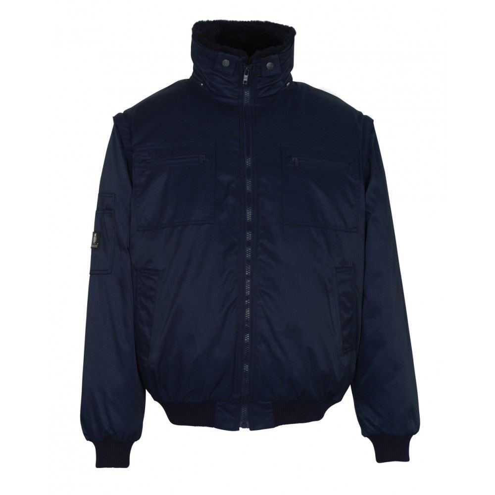 Mascot Water-repellent Detachable Collar Jacket Innsbruck 00520620 Black or Navy