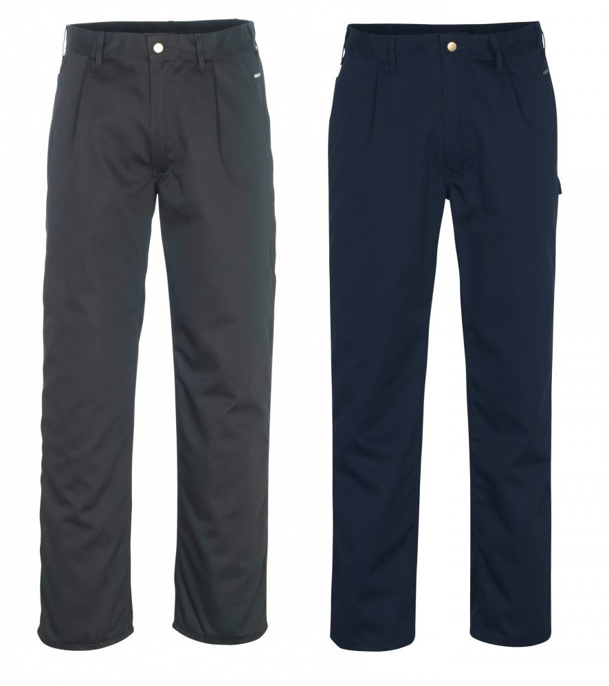 Mascot Montana 00579-430 Men's Polycotton Work Trousers Navy or Black