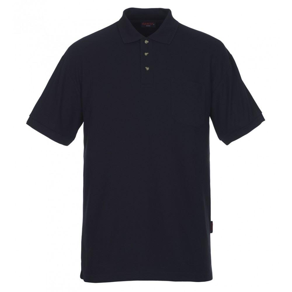 Mascot Borneo 00783-260 Ribbed Collar & Sleeves Polycotton Casual Uniform Polo Shirt