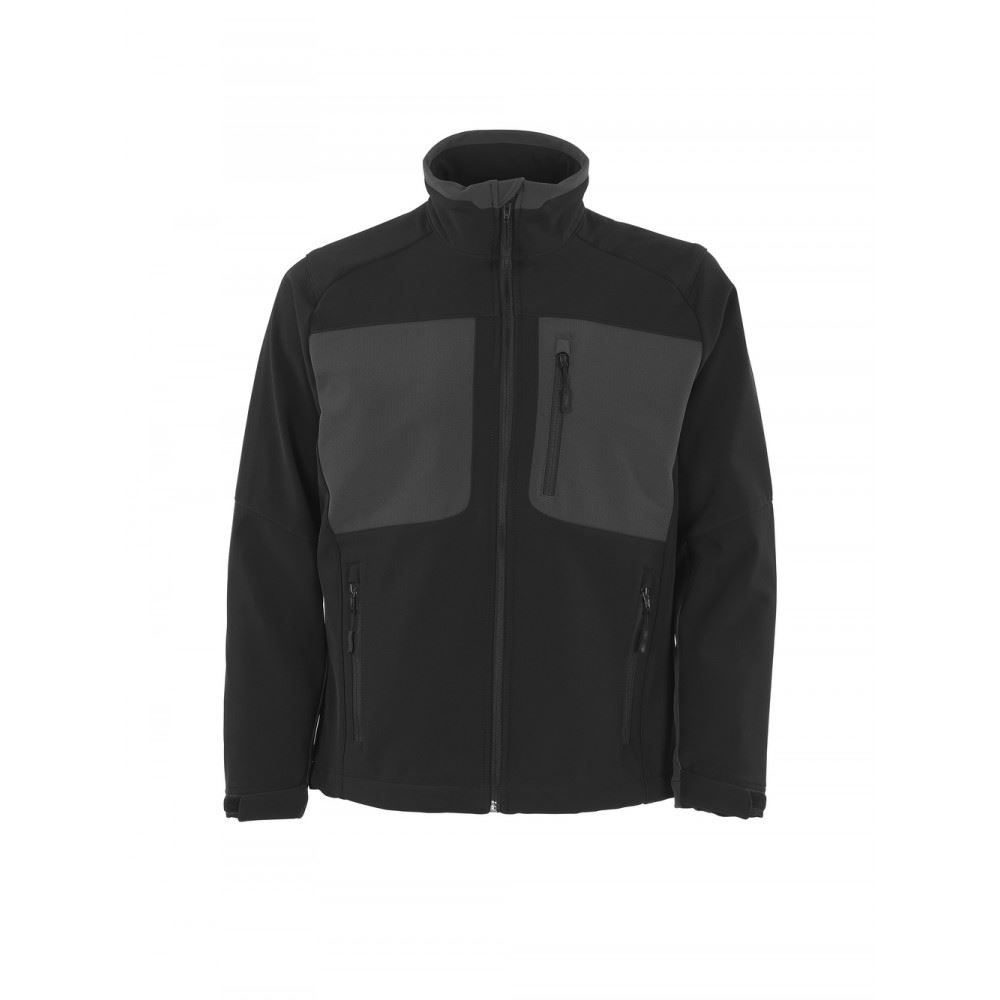 Mascot Water-repellent Breathable Jacket Lagos 50057-824 Black/Anthracite