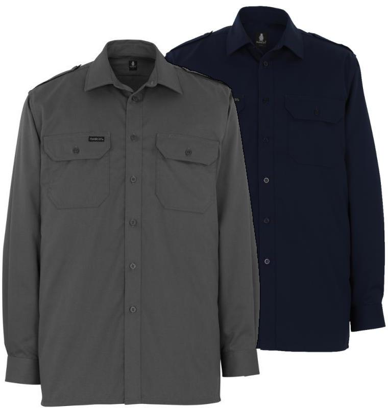 Mascot Removable Shoulder Straps Shirt Detroit 00504-230-888 Long Sleeve