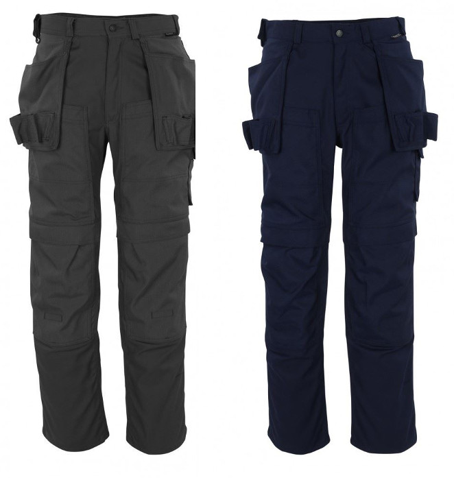 Mascot Lorca 04031-010 Knee Pads Pockets Hammer Loop Policotton Combat Trousers