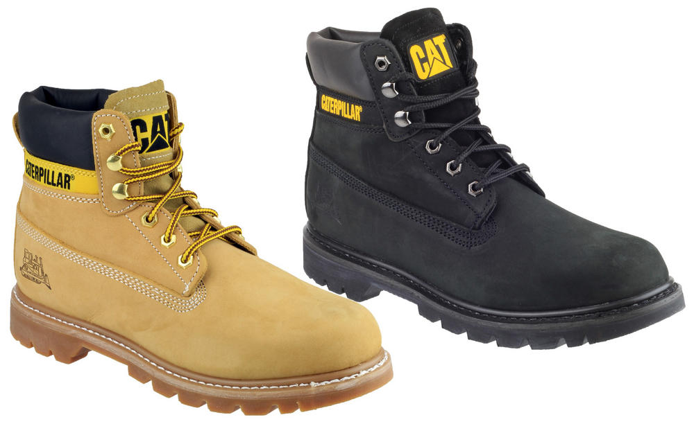 Caterpillar CAT Colorado Leather Classic Work Boots Men Various Colours