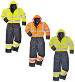 Portwest S485 Breathable Hi Vis Coverall