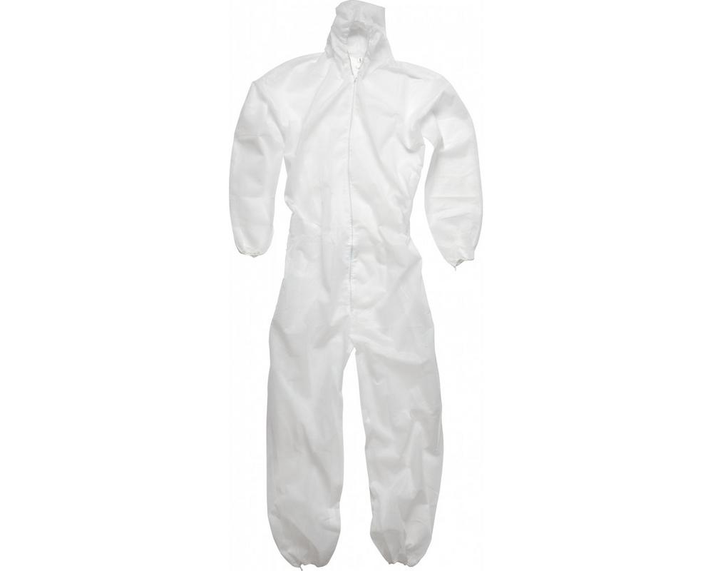 Arvello COC10W Disposable Coverall Type 5/6- White (Pack of 5)
