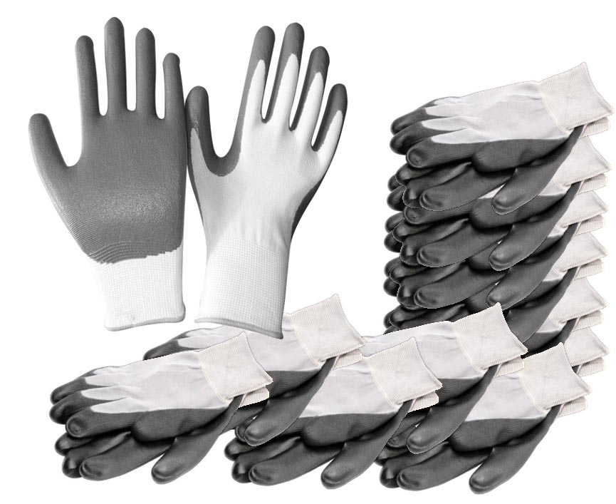 Arvello N998 Nitrile Foam-Coated Gloves (Pack of 12)