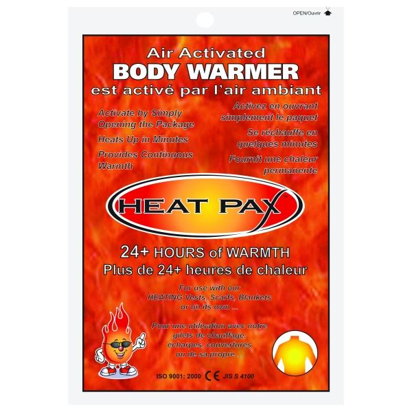 Alpha Solway Heat Pax 5542 Body Warmers (Pack of 10)
