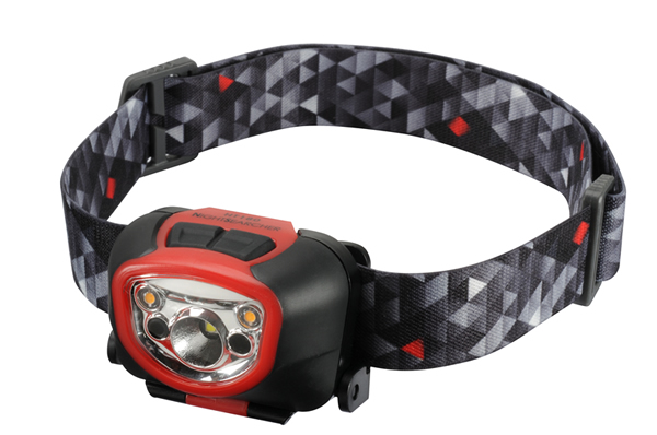 NightSearcher - HT180 Non-rechargeable LED Head Torch Reactive Distance Sensor