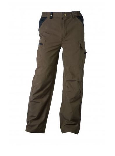 Timberland PRO 606 Lightweight Multi-Pocket Work Trousers Brown - Top Workwear