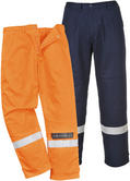 Portwest FR26 Bizflame Plus Trouser Navy or Orange