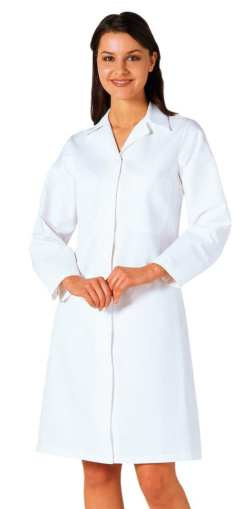 Portwest 2205 Womens Food Coat 1 Pocket White