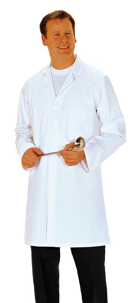 Portwest 2206 Food Coat 3 Pockets White