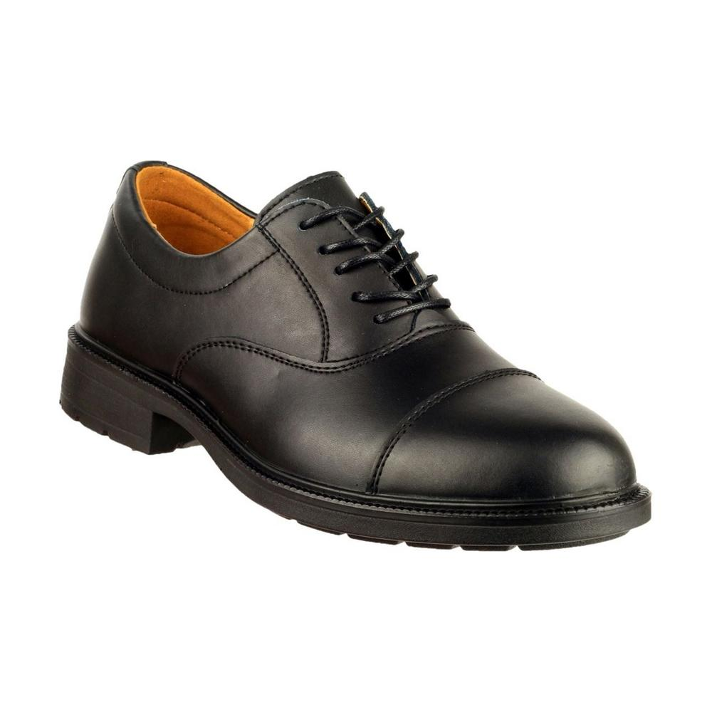 Amblers Chepstow Leather Men's Casual Shoe - Black