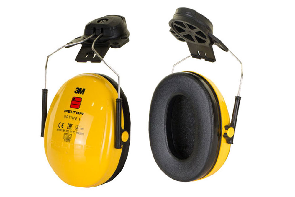 3M Peltor Optime I H510P3E-405-GU Ear Muffs Helmet Attachment 26dB SNR Ear Defenders