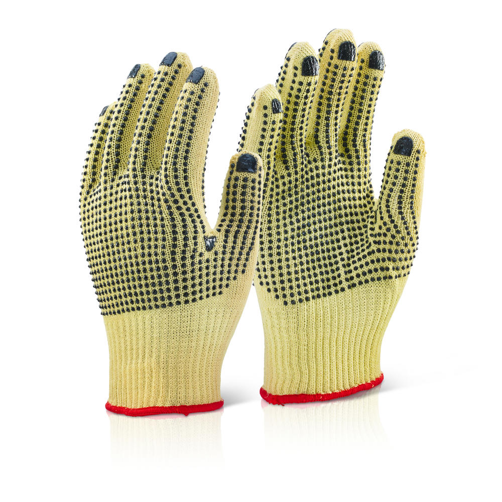 Beeswift KGMWD Kevlar Mediumweight Dotted Glove - Size 9
