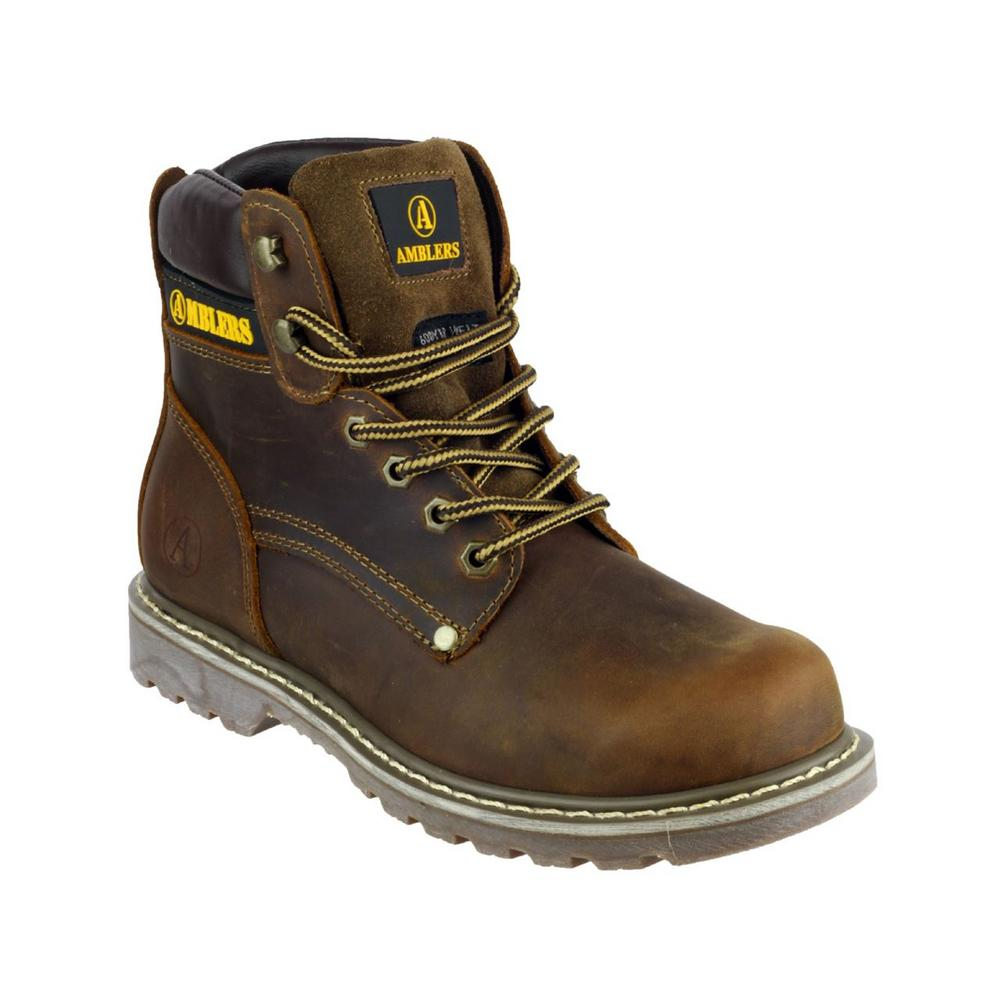 Amblers Dorking Men's Lace Up Pull On Casual Boot (Non Safety)