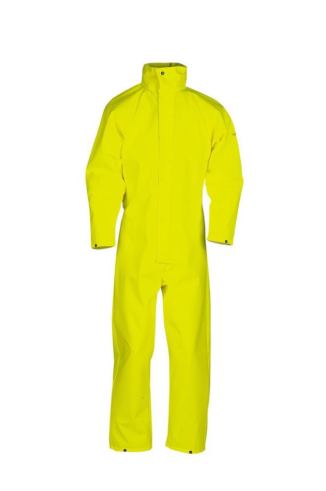Sioen Montreal Waterproof Hi Vis Yellow Coverall 4964