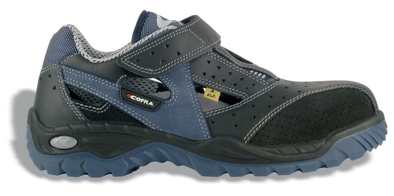 Cofra Trainer Jungle Blue/Black Sip ESD Shoe