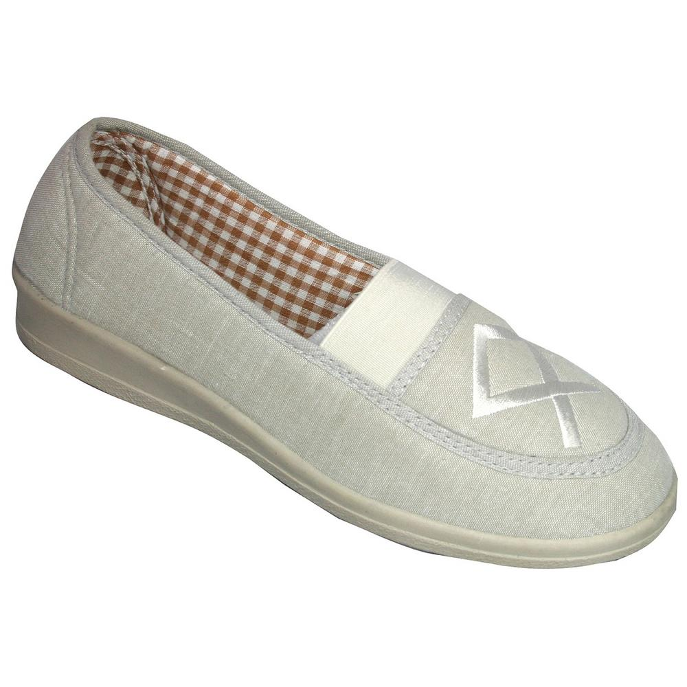 Mirak Malt Slip-on Canvas Womens Shoes
