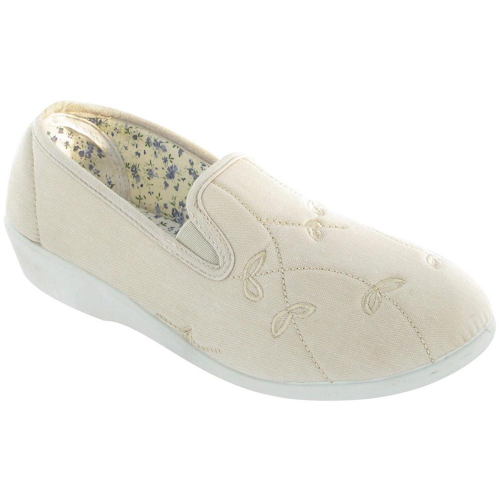 Mirak Bessie Twin Gusset Canvas Slip-on Shoes