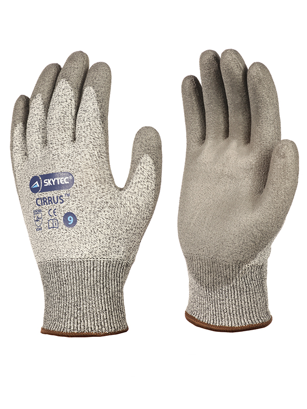 Skytec Cirrus Level 3 Cut and Puncture Protection Work Gloves 4.3.4.3
