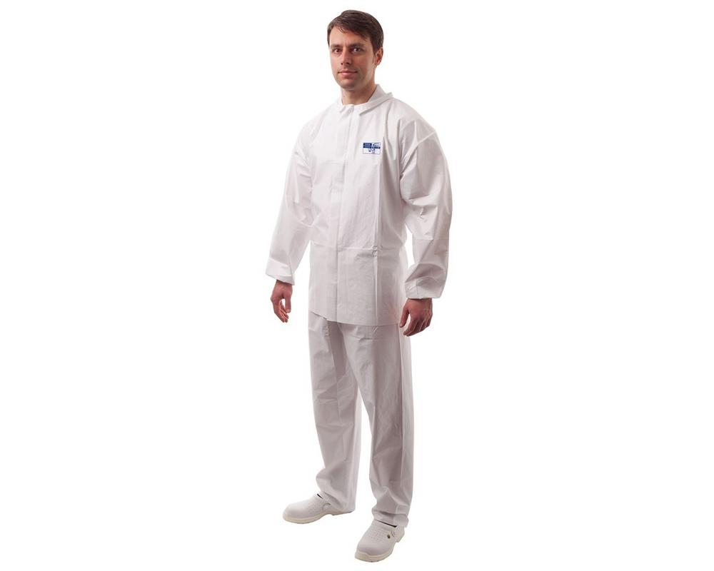 Portwest ST20 BizTex Microporous Suit White (Pack of 50)