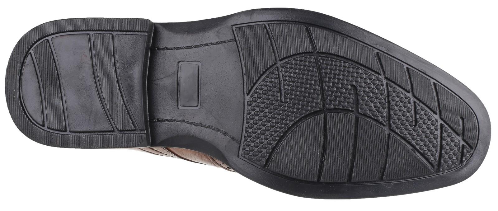 Cotswold Mickleton Scarpe Da Uomo Gibson pelle CALATA all'inglese 100% in pelle Gibson Calzature Formale 1ad3ab