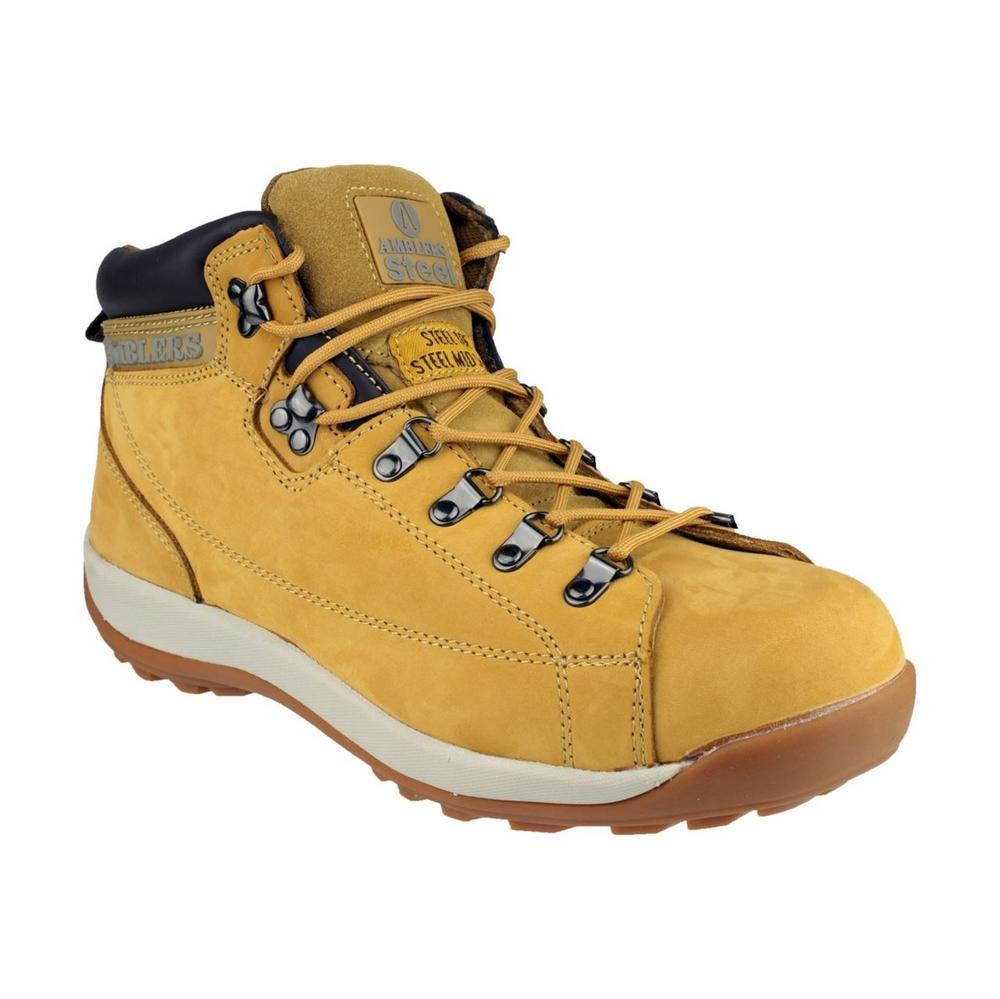 Amblers Safety Boots - FS122 Unisex SB Nubuck