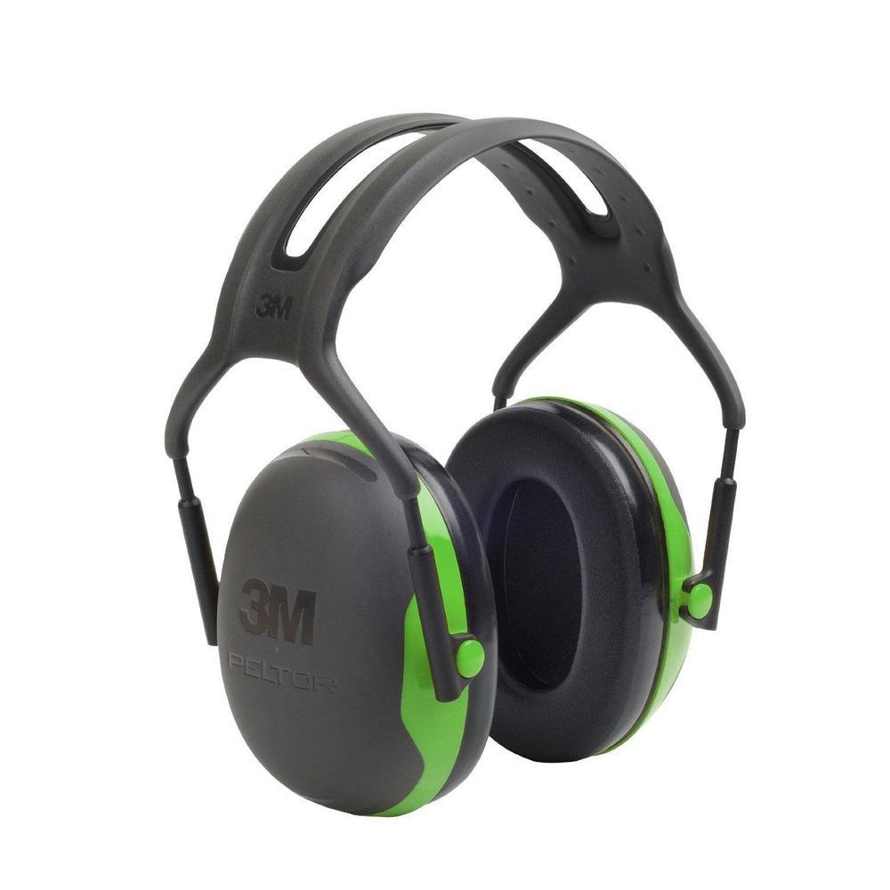 3M Peltor X1A SNR 27dB Ear Defenders Headband Green
