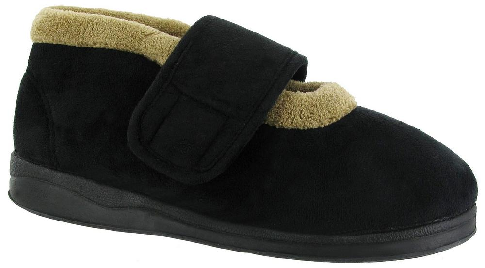 Mirak Jeane Touch Fastening Bootee Womens Slippers