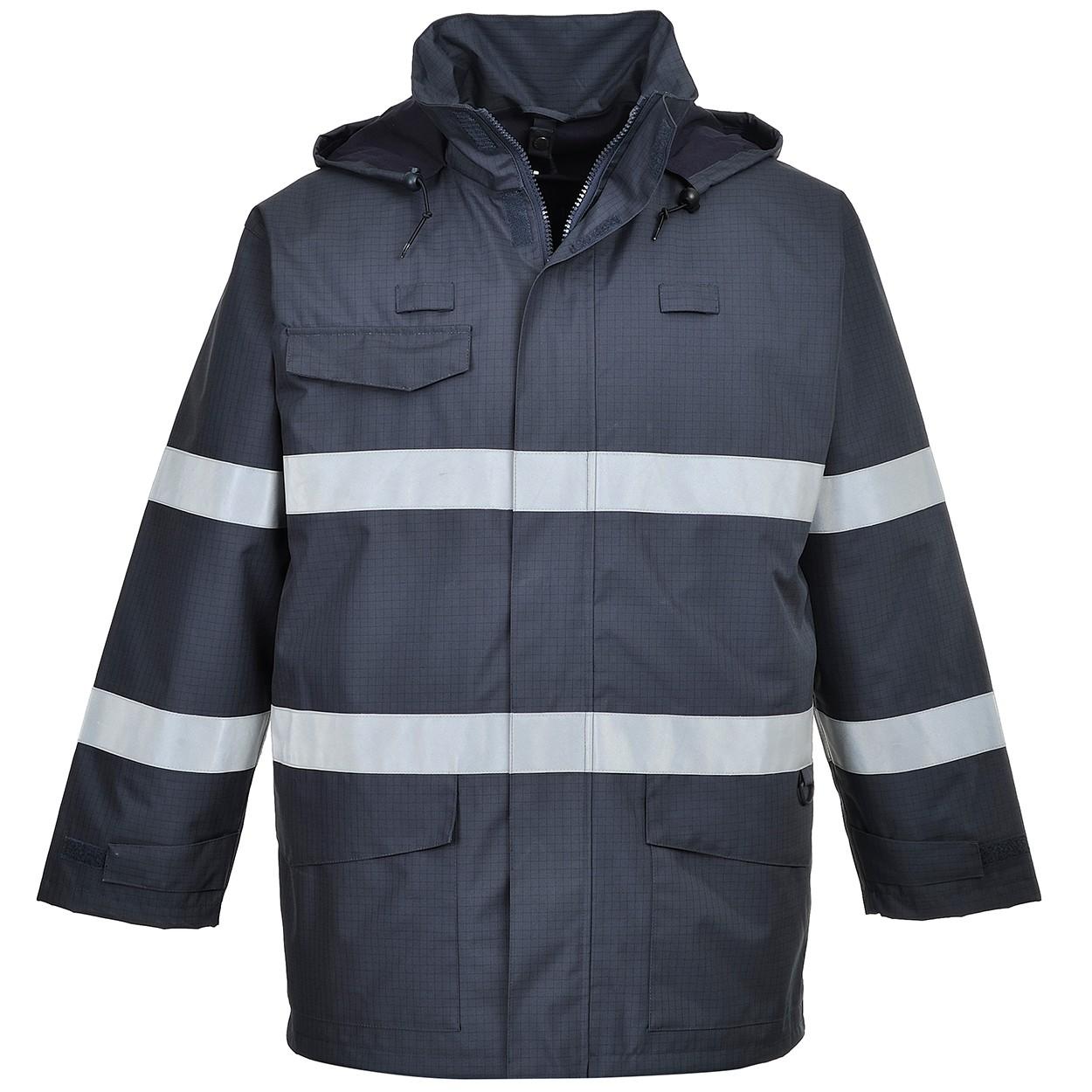 07595fac556a Portwest S770 Bizflame Rain Jacket