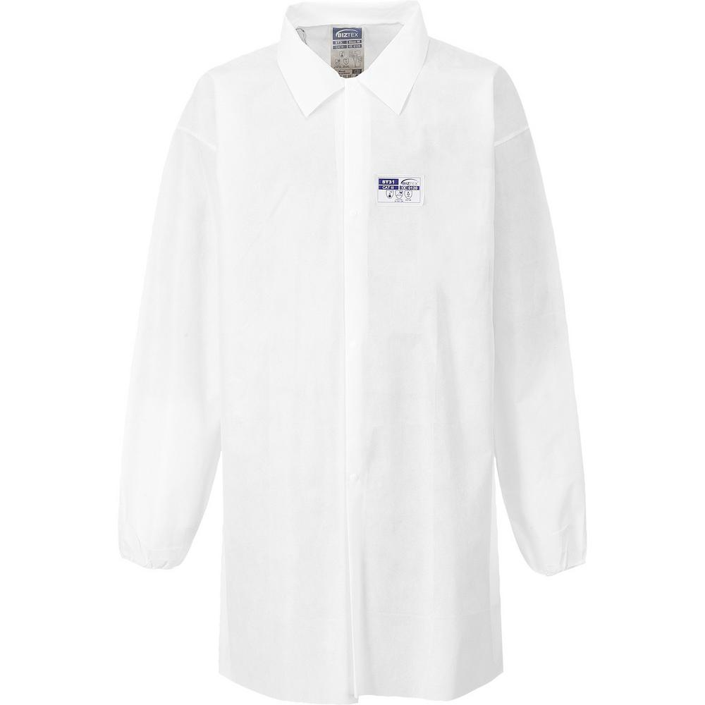 Portwest ST31 Disposable White Lab Coat (Pack of 50)