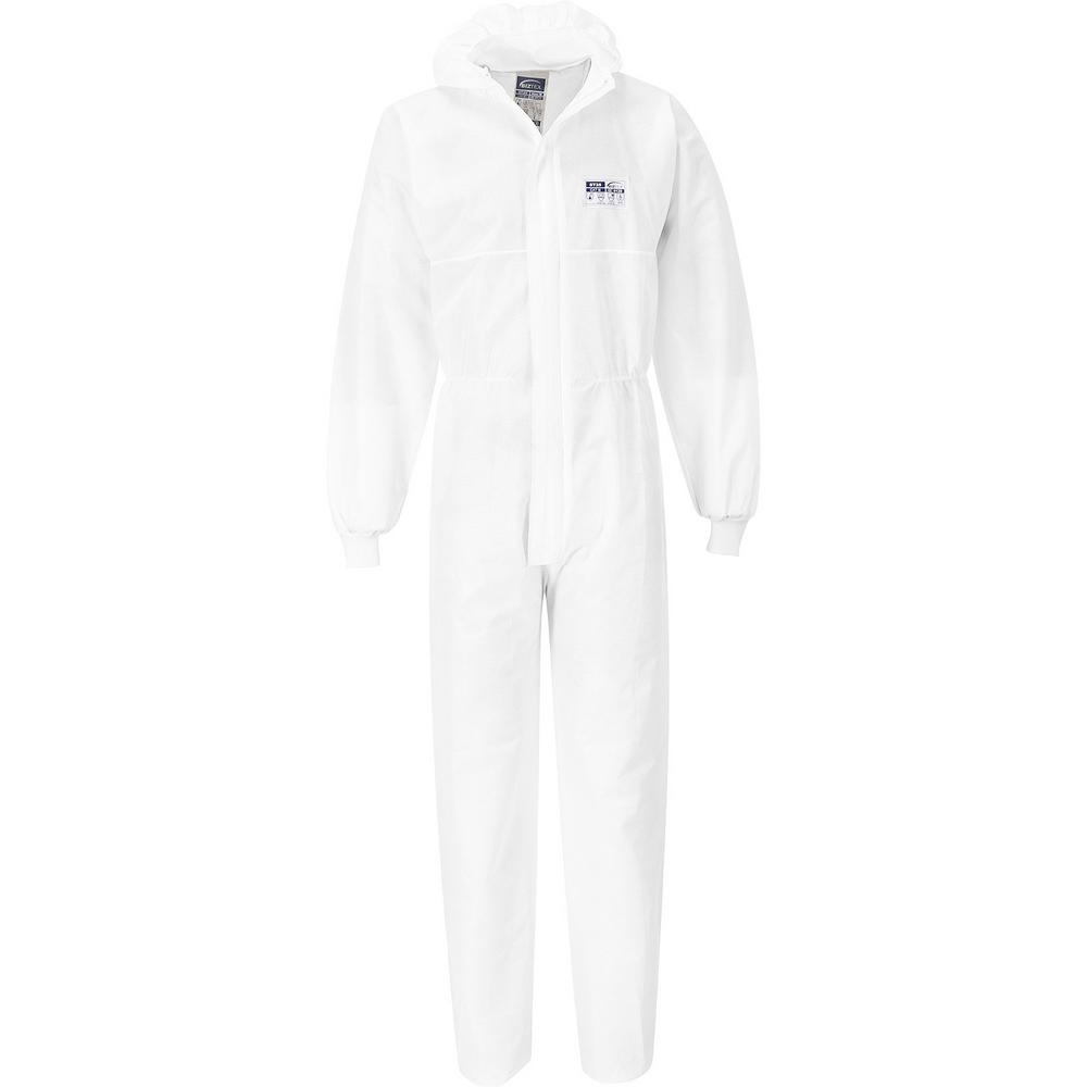 Portwest ST35 BizTex SMS Coverall with Knitted Cuff (Pack of 50)