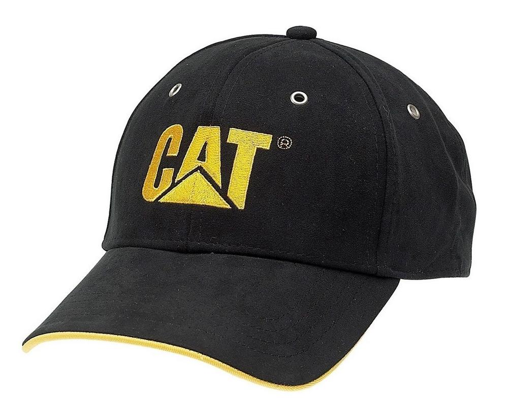 Caterpillar CAT C434 Classic Baseball Cap One Size Mens Black Polyester Free P&P