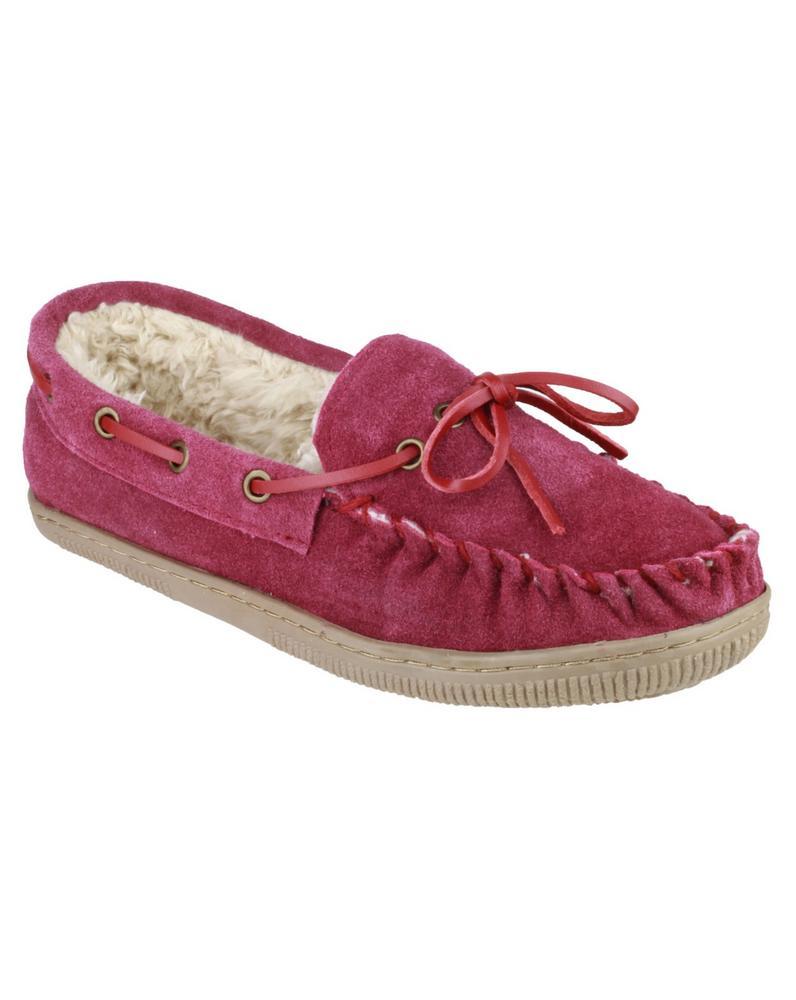 Mirak Original Suede Taw Women's Womens Slippers - Violet or Navy