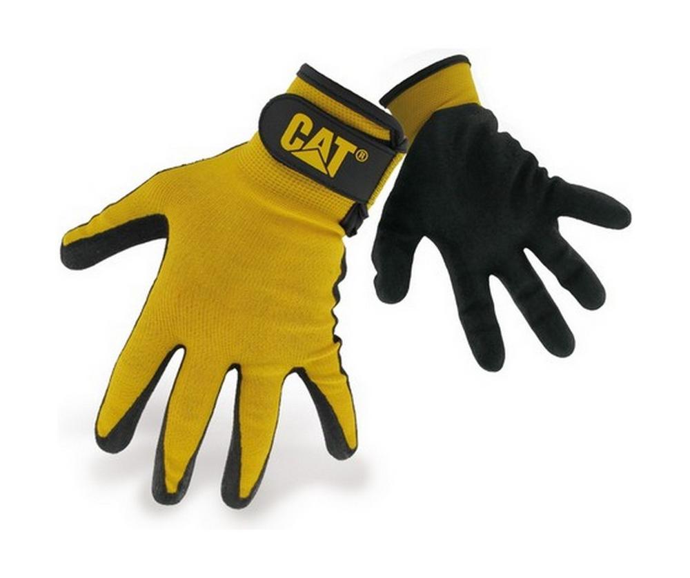 Caterpillar 17416 Nitrile Coated Gloves Workwear