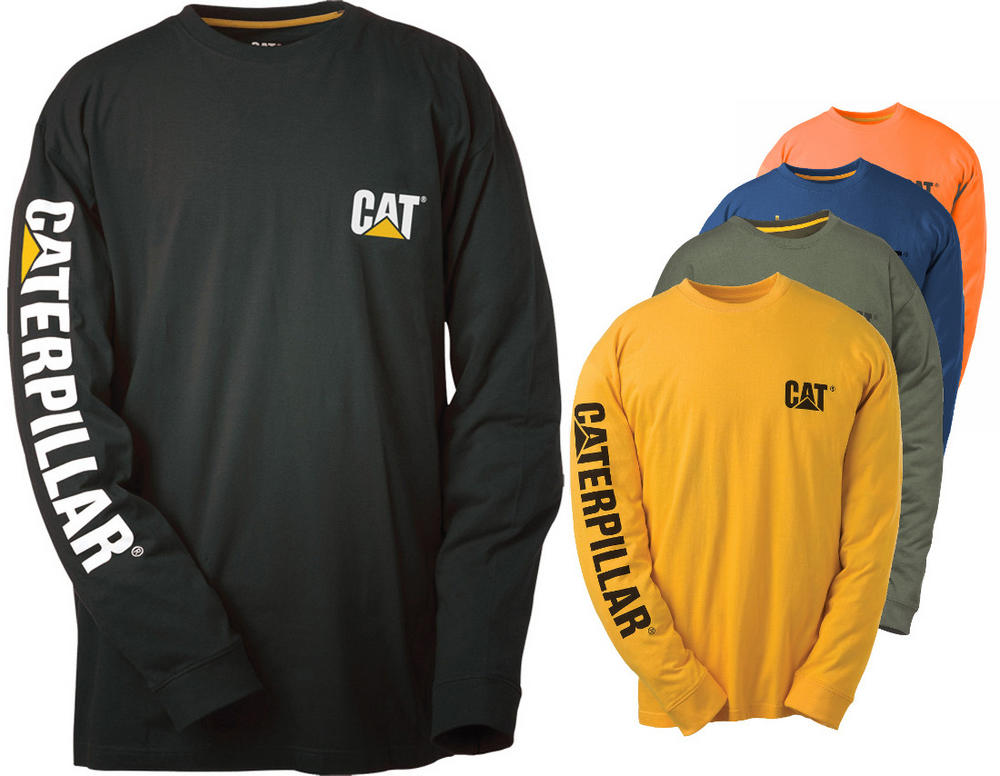 Caterpillar C1510034 Trademark Soft Inner Lining T-Shirt Workwear