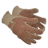 Polyco Hot Heat Resistant Nitrile Grip Dot Coating Hand Protection Cotton Glove