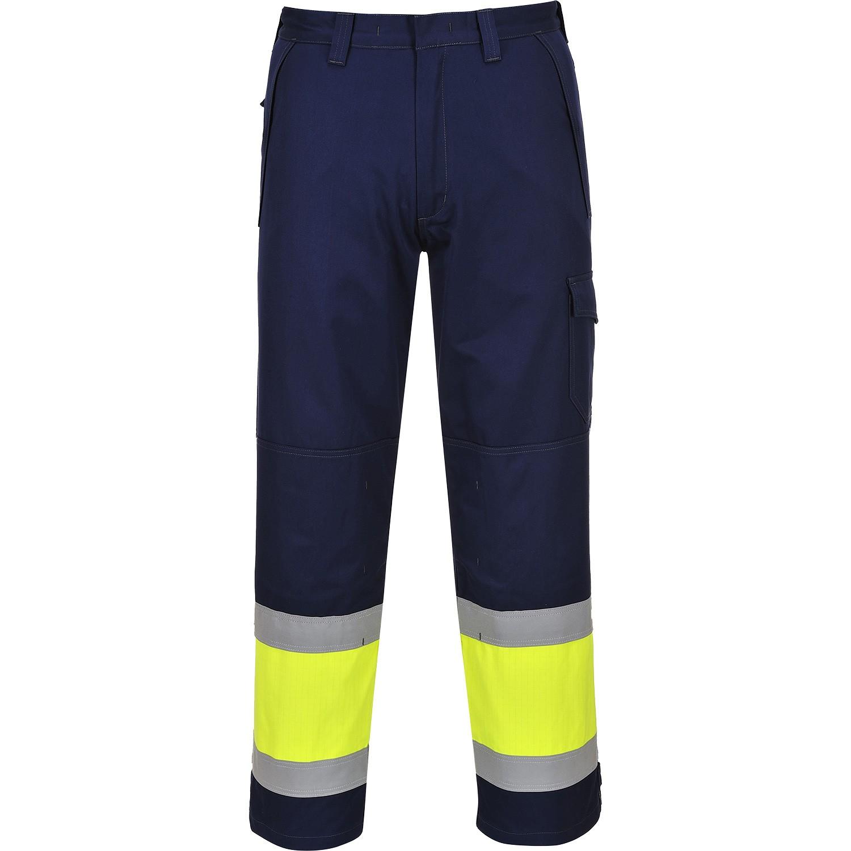 837131984ead Portwest MV26 Flame Resistant Hi Vis Trousers